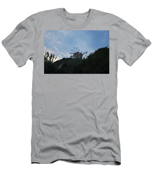 Old Wind Mill 1830 Men's T-Shirt (Athletic Fit)