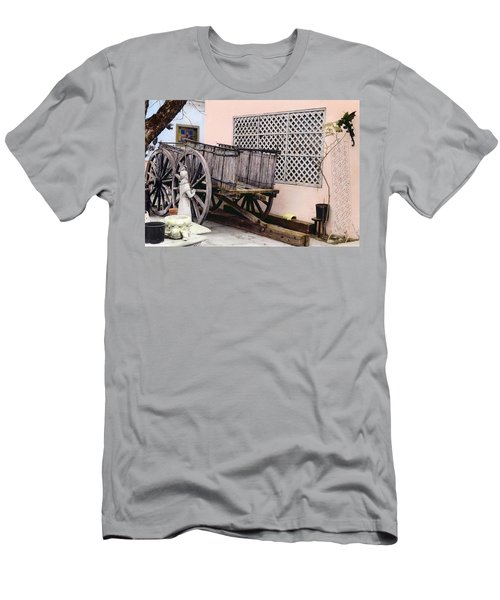 Old Wooden Wagon Men's T-Shirt (Athletic Fit)
