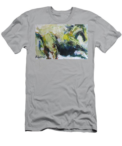On The Run No.3 Men's T-Shirt (Athletic Fit)