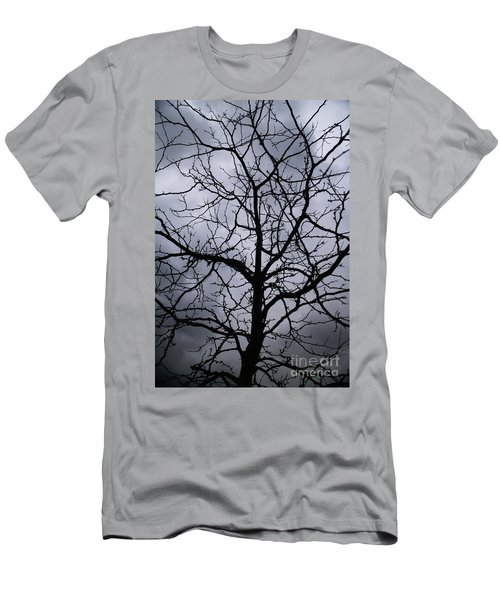 Men's T-Shirt (Slim Fit) featuring the photograph On Their Shoulders Held The Sky by Linda Shafer