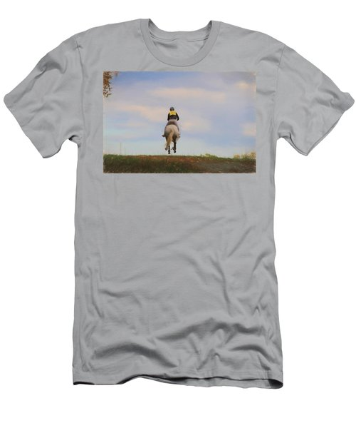 On To The Next Jump Men's T-Shirt (Athletic Fit)