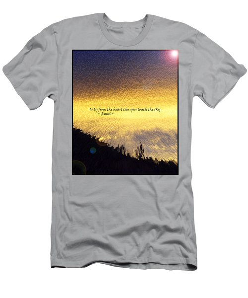 Only From The Heart Men's T-Shirt (Athletic Fit)