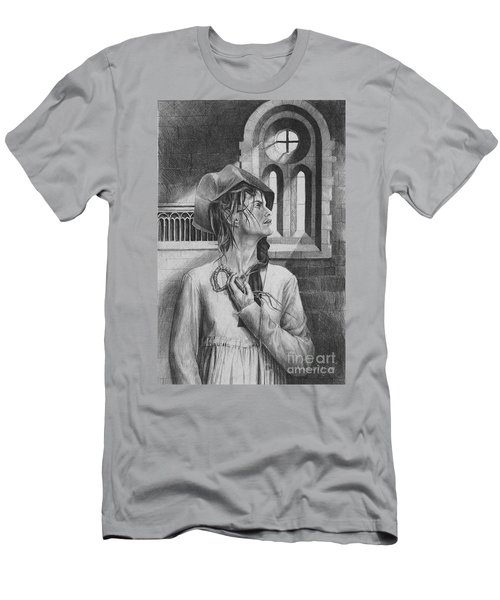 Ophelia Men's T-Shirt (Slim Fit) by Yvonne Wright