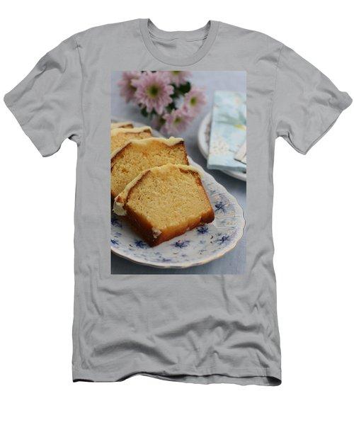 Orange Cake Men's T-Shirt (Athletic Fit)