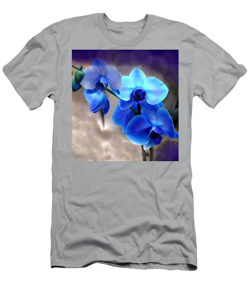 Men's T-Shirt (Slim Fit) featuring the photograph Orchid Art by Wendy McKennon