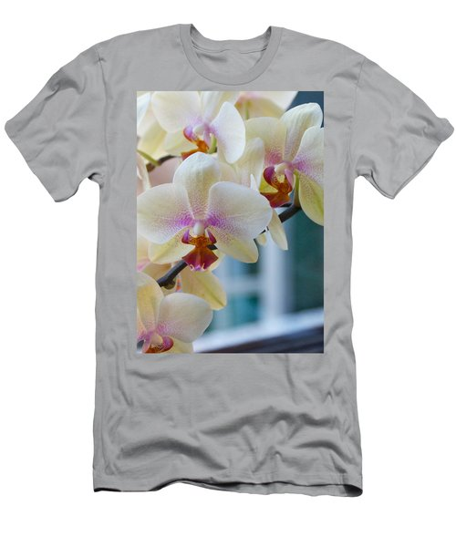 Orchids In The Morning Light Men's T-Shirt (Athletic Fit)