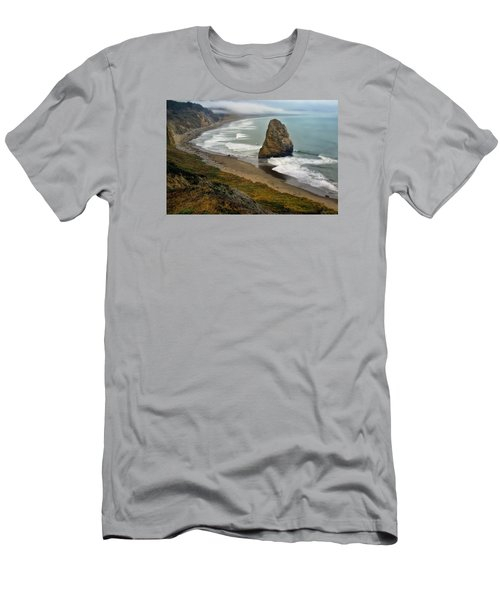 Oregon Coast Men's T-Shirt (Slim Fit) by Priscilla Burgers