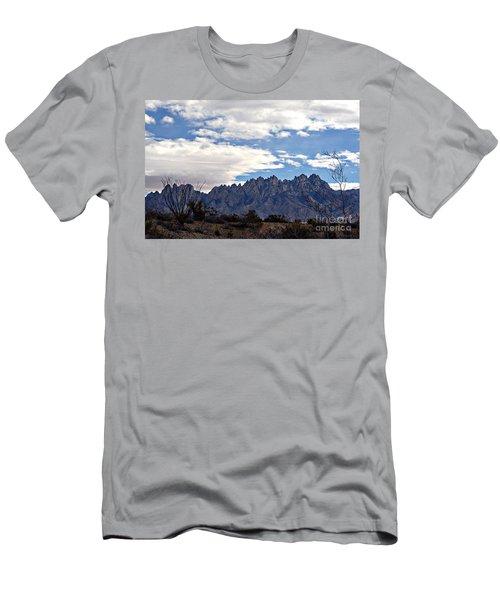 Organ Mountain Landscape Men's T-Shirt (Athletic Fit)