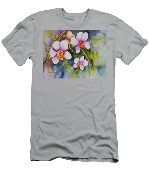 Orchids In My Garden Men's T-Shirt (Athletic Fit)