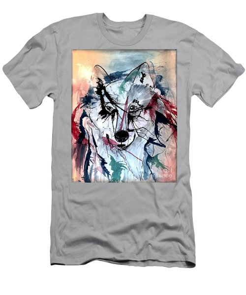 Men's T-Shirt (Slim Fit) featuring the painting Orion by Denise Tomasura