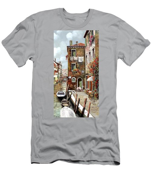 Osteria Sul Canale Men's T-Shirt (Athletic Fit)