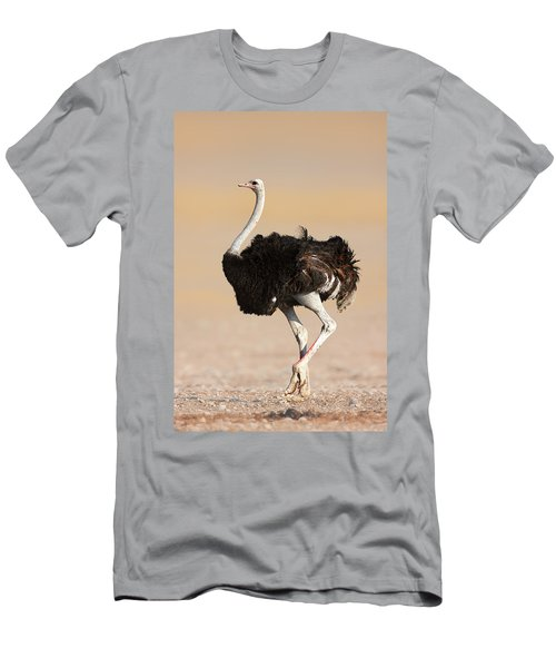 Ostrich Men's T-Shirt (Athletic Fit)