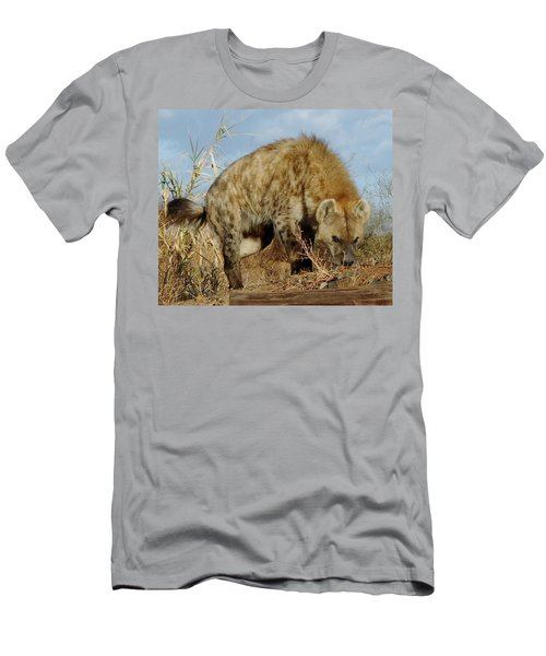 Out Of Africa Hyena 1 Men's T-Shirt (Athletic Fit)
