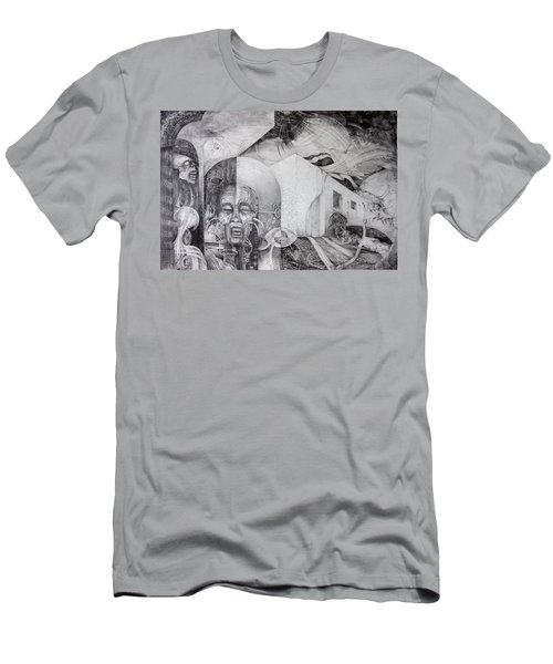 Outskirts Of Necropolis Men's T-Shirt (Athletic Fit)