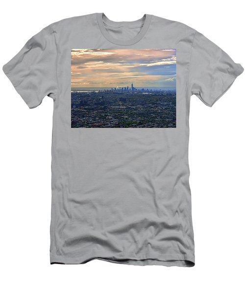 Over East New York Men's T-Shirt (Athletic Fit)