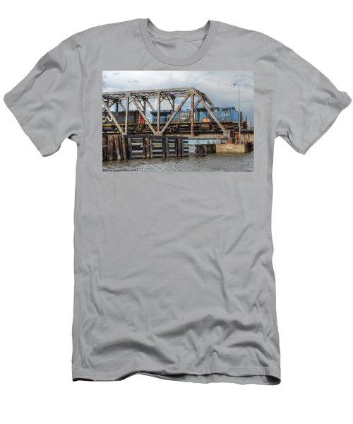 Over Pass Manchac Men's T-Shirt (Athletic Fit)