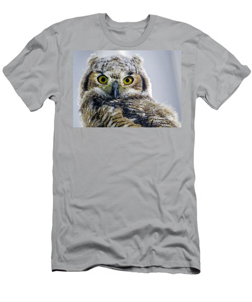 Owlet Close-up Men's T-Shirt (Athletic Fit)