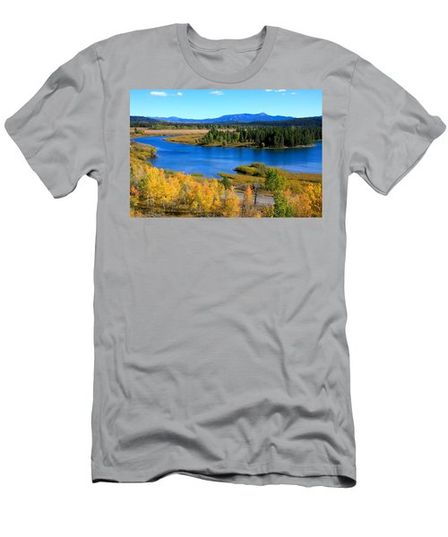 Oxbow Bend, Grand Teton National Park Men's T-Shirt (Athletic Fit)