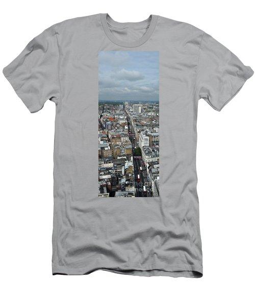 Oxford Street Vertical Men's T-Shirt (Athletic Fit)