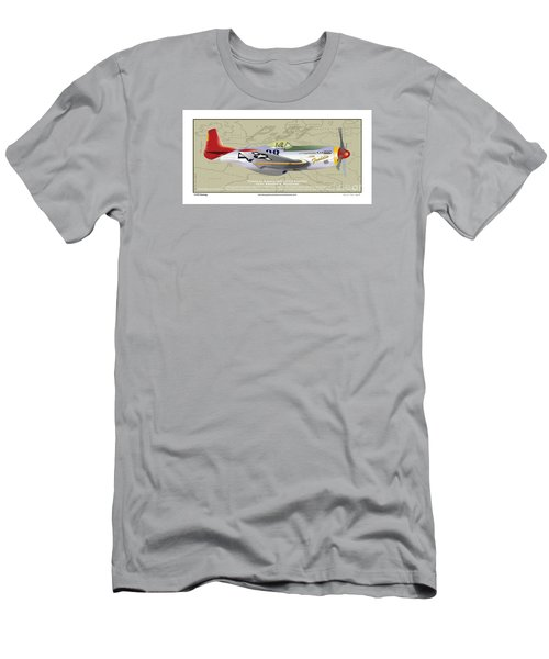 P-51  Men's T-Shirt (Athletic Fit)
