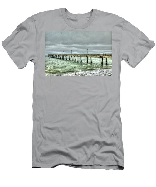 Pacifica Municipal Fishing Pier 7 Men's T-Shirt (Athletic Fit)