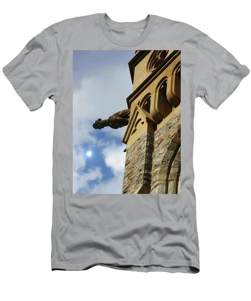 Packer Memorial Church Gargoyle Men's T-Shirt (Athletic Fit)