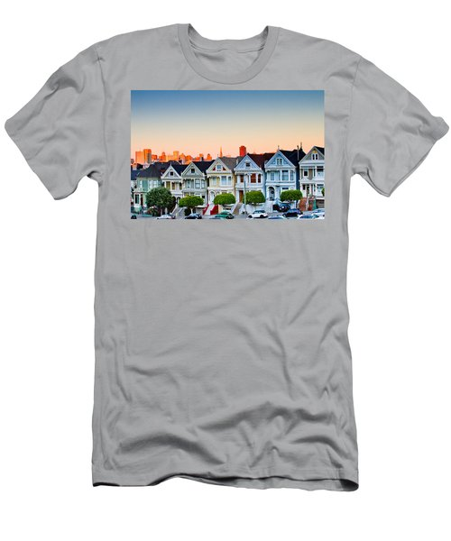 Painted Ladies Men's T-Shirt (Slim Fit) by Bill Gallagher