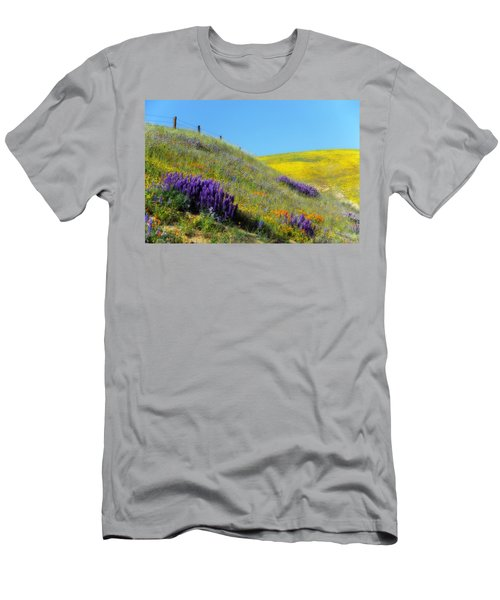 Painted With Wildflowers Men's T-Shirt (Athletic Fit)