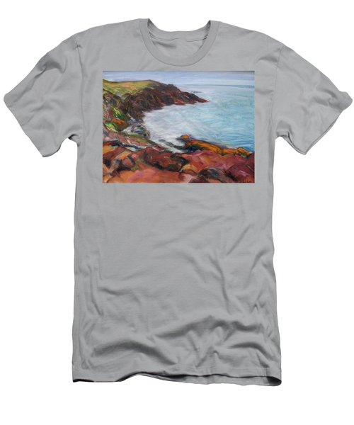 Painterly - Bold Seascape Men's T-Shirt (Athletic Fit)