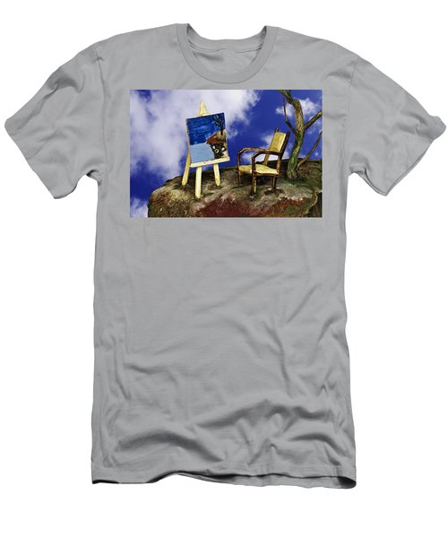 Painting Men's T-Shirt (Athletic Fit)