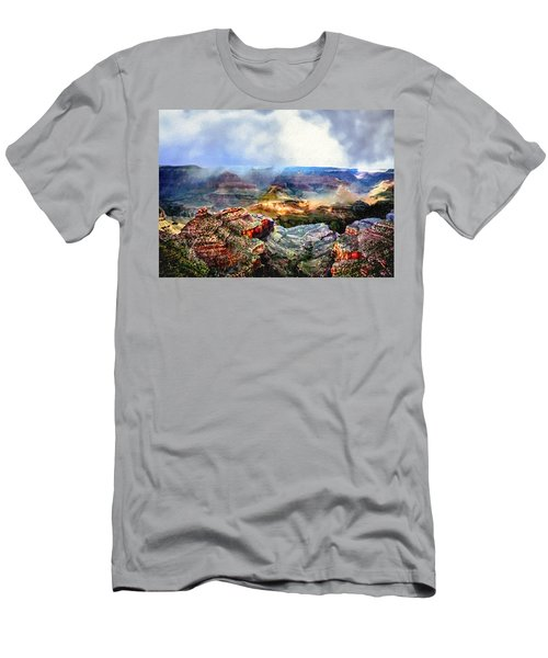 Painting The Grand Canyon Men's T-Shirt (Athletic Fit)