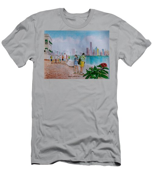 Panama City Panama Men's T-Shirt (Athletic Fit)