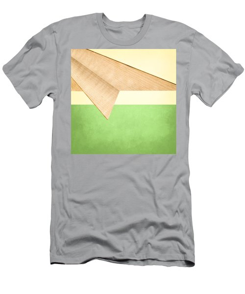 Paper Airplanes Of Wood 17 Men's T-Shirt (Athletic Fit)