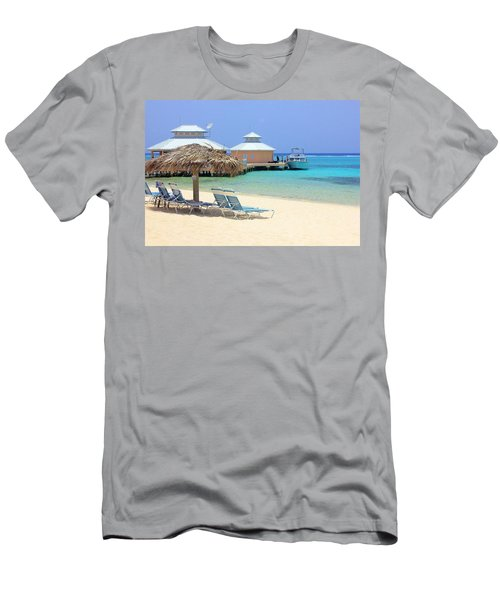 Paradise Docking Men's T-Shirt (Athletic Fit)