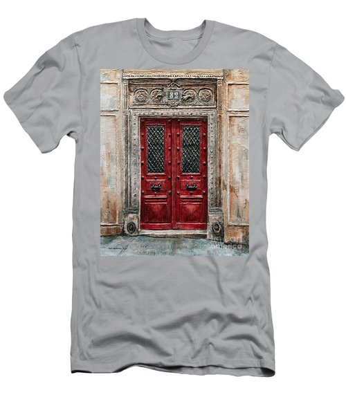 Parisian Door No.82 Men's T-Shirt (Athletic Fit)