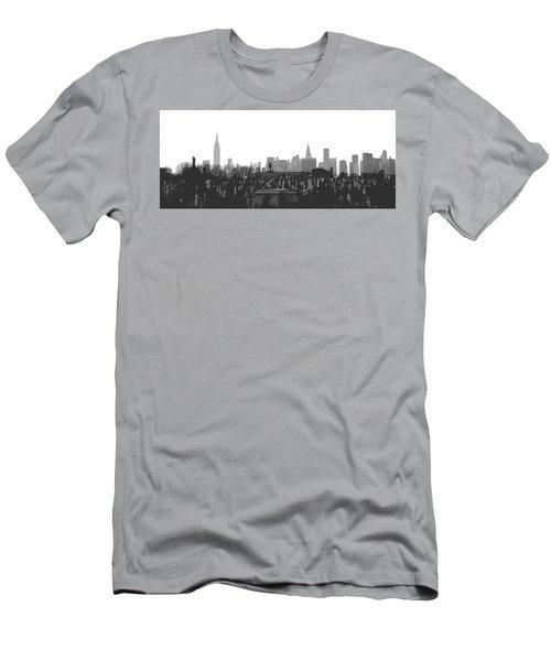Past Present Future Men's T-Shirt (Athletic Fit)
