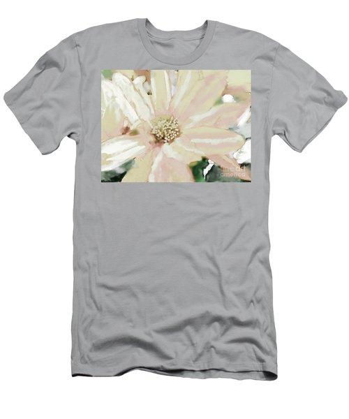 Pastel Daisy Photoart Men's T-Shirt (Athletic Fit)