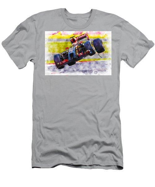 Pastor Maldonado Men's T-Shirt (Athletic Fit)