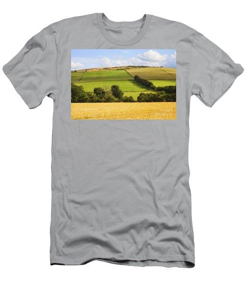 Pastoral Scene Men's T-Shirt (Athletic Fit)