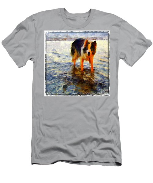 Paws For Thought Men's T-Shirt (Athletic Fit)