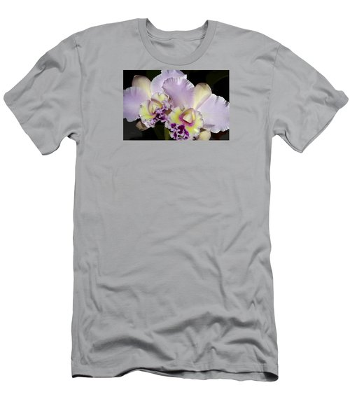 Men's T-Shirt (Slim Fit) featuring the photograph Peace And Love by Phyllis Denton