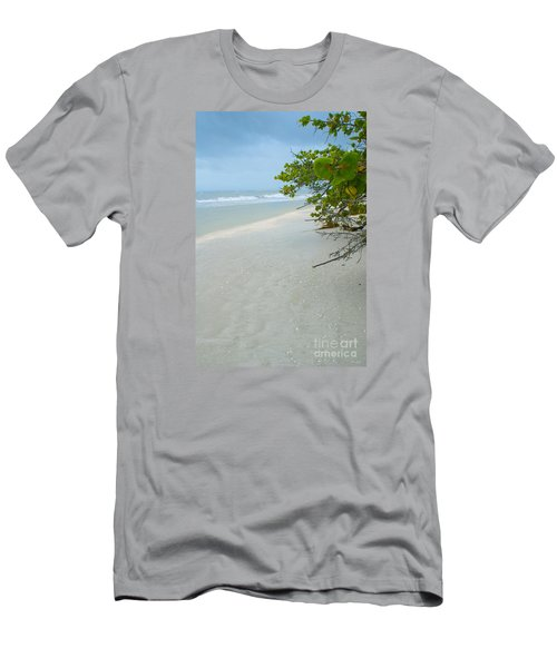 Peace And Quiet On Sanibel Island Men's T-Shirt (Slim Fit) by Jennifer White