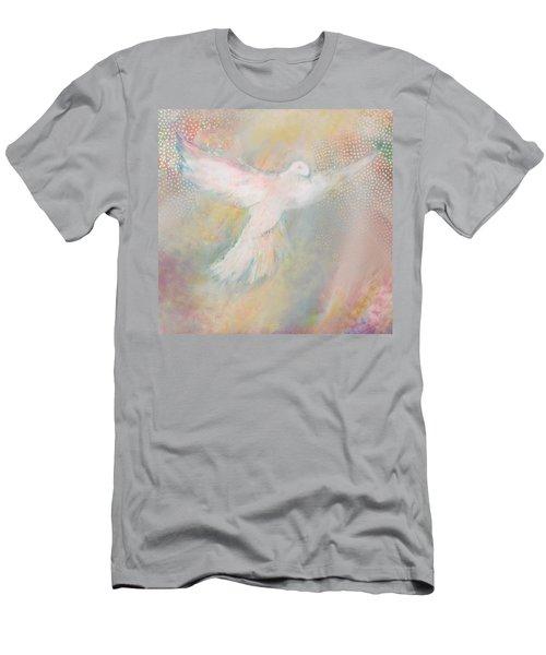Peace Dove Men's T-Shirt (Athletic Fit)