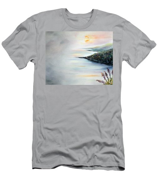 Men's T-Shirt (Slim Fit) featuring the painting Peace by Meaghan Troup