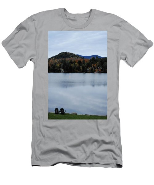Peaceful Evening At The Lake Men's T-Shirt (Athletic Fit)