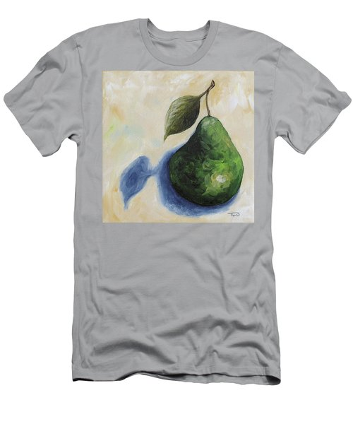 Pear In The Spotlight Men's T-Shirt (Athletic Fit)