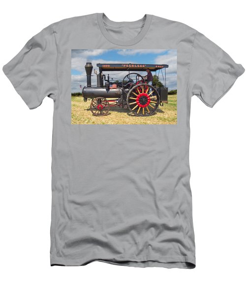 Peerless Steam Traction Engine Men's T-Shirt (Athletic Fit)