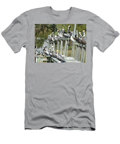 Pelican Party Men's T-Shirt (Athletic Fit)