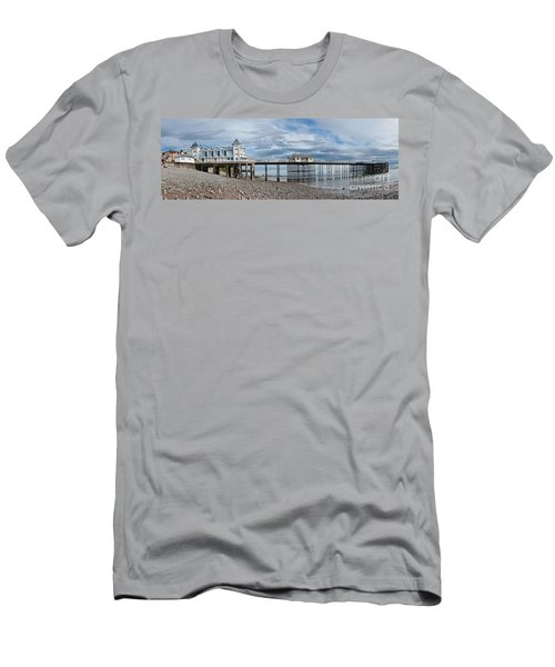 Penarth Pier Panorama 1 Men's T-Shirt (Athletic Fit)