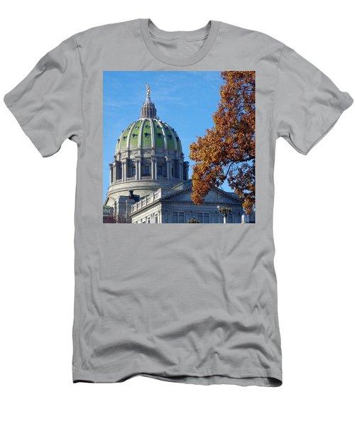 Pennsylvania Capitol Building Men's T-Shirt (Athletic Fit)